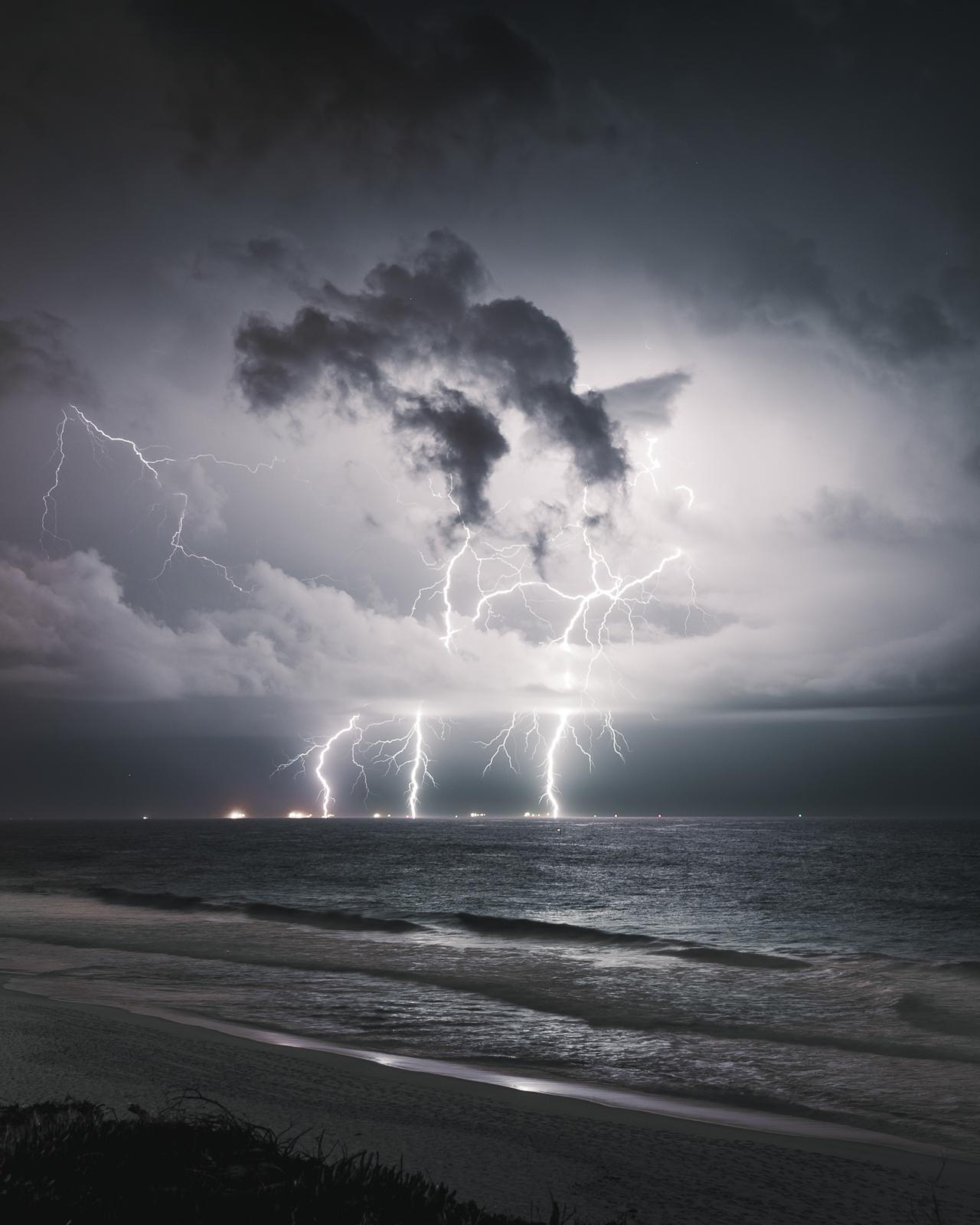 Lightning, Floreat, Western Australia