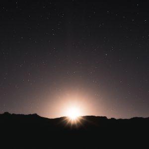 Moon Rise, Margaret River, Western Australia